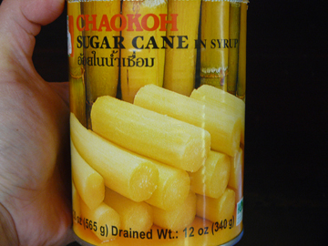 Canned-sugarcane