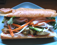 The Bread And Protein Light Crispy Baguette Not The Chewy Rustic Kind Is Essential For Encasing Without Overshadowing The Other Ingredients Vietnamese