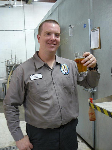 Skyscraper brewing company - owner Phil