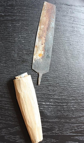 handmade knife from Vietnam