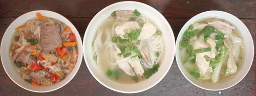 instant pho and homemade