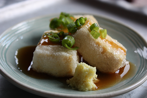 Asian Tofu: Japanese agedashi tofu recipe