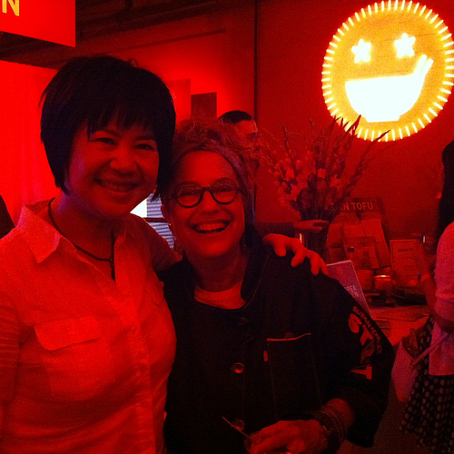 LuckyRice Andrea Nguyen with Susan Feniger