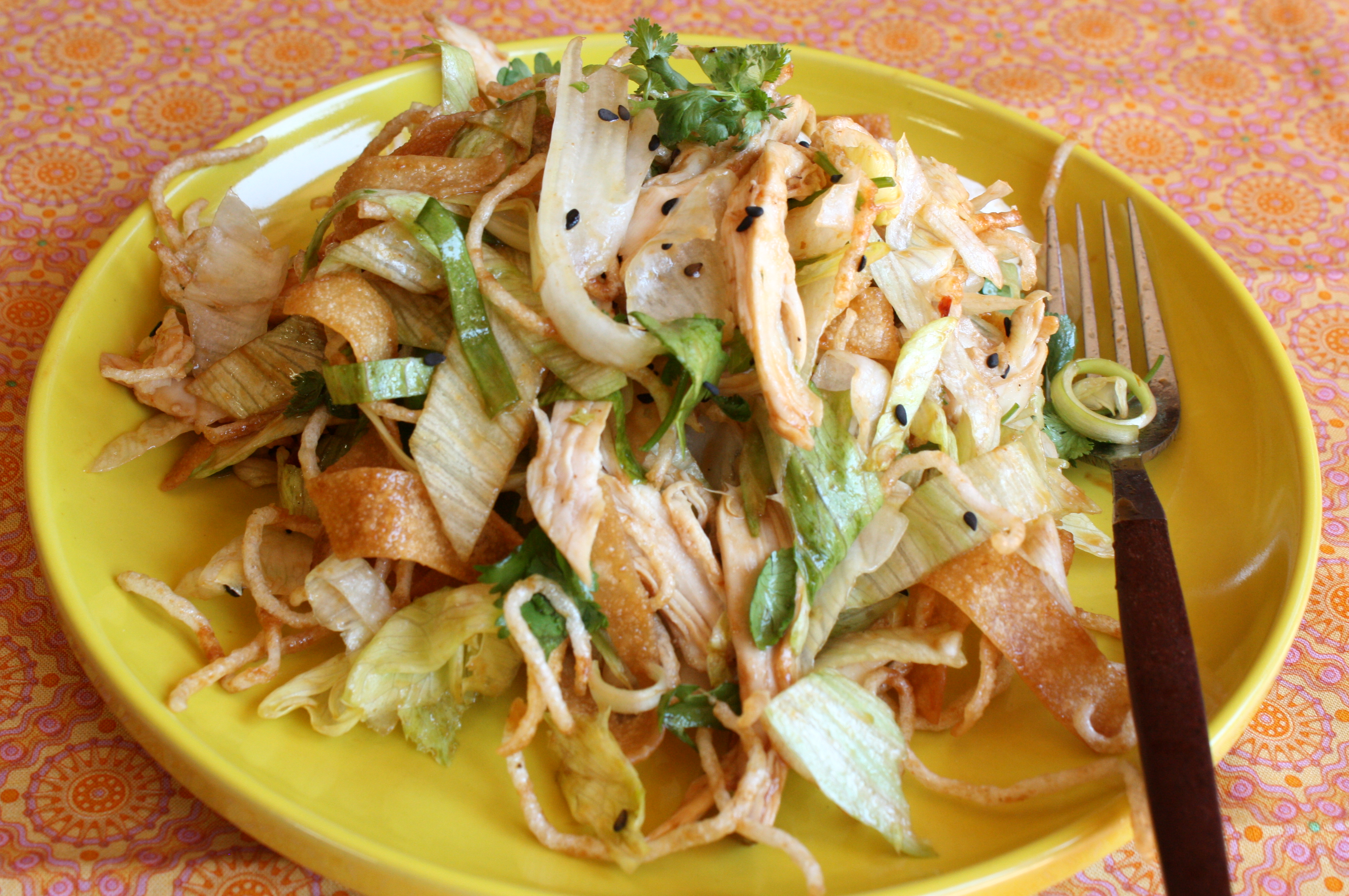 Asian chicken salad video matchless