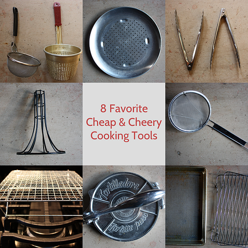 Cheap metal cooking tools