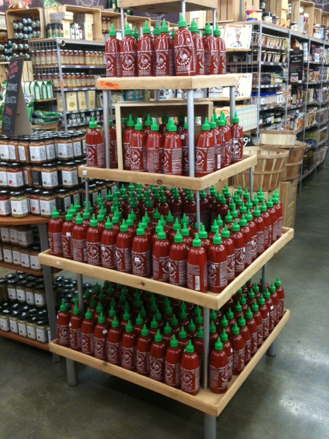 Tower of Sriracha by F Ball