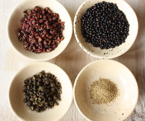 Sichuan peppercorn 4 kinds