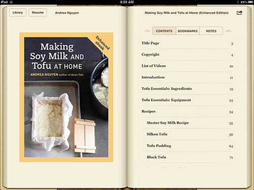 Making soy milk tofu ebook