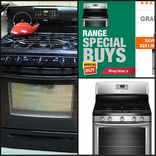Stove collage