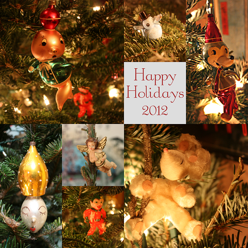Christmas Ornament 2012 Collage