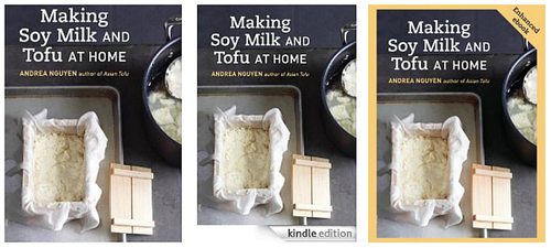 Making Soy Milk adn Tofu at Home eBook covers