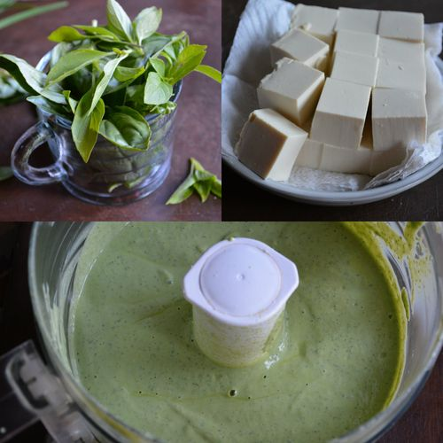 Basil-tofu-goddess-dressing-collage