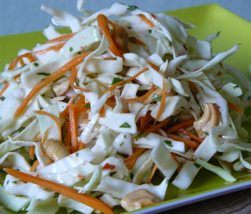 Spicy-green-cabbage-salad