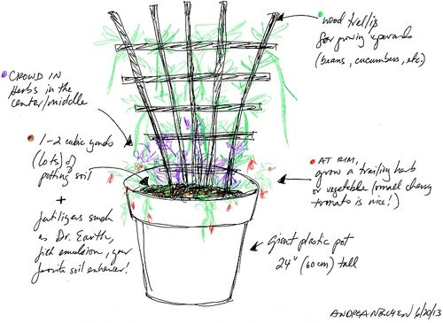 Small-space-gardening-pot