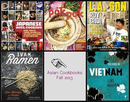 Asian cookbook releases fall 2013
