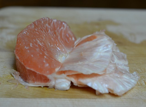 Pomelo-section