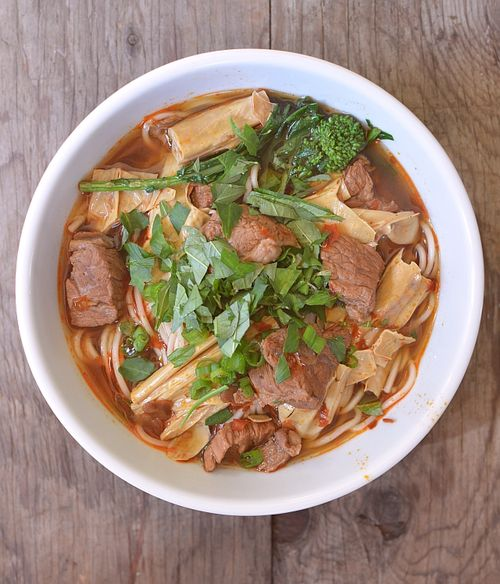 Spicy-beef-tofu-noodle-soup