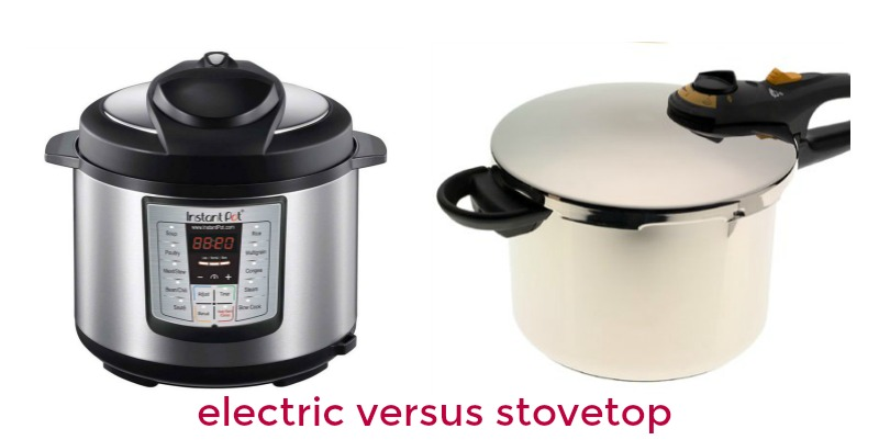 Electric Pressure Cooker Vs Stove Top: The Difference