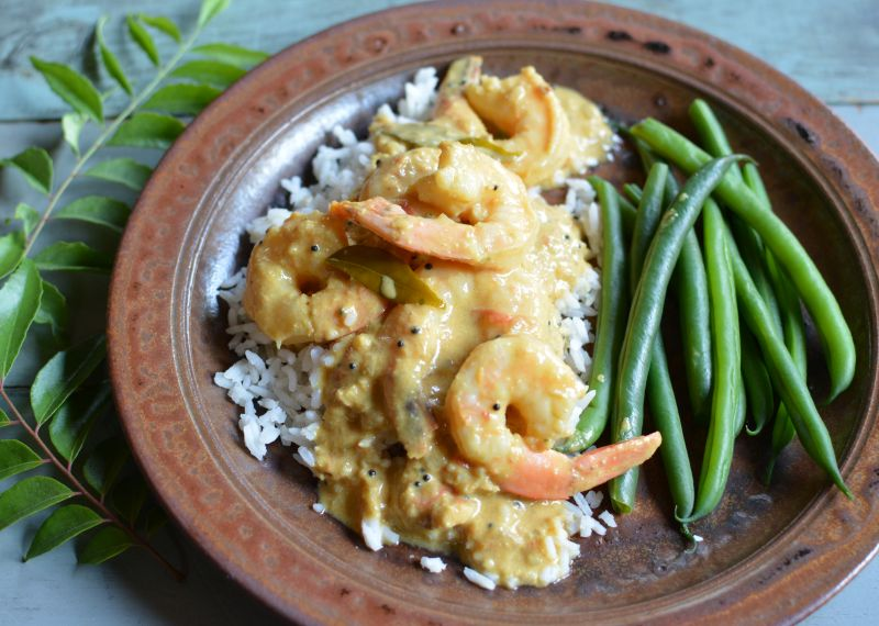 Kerala shrimp in coconut milk recipe viet world kitchen believe it or not one of my favorite indian cookbooks is published by betty crocker it was written by indian food expert raghavan iyer and titled forumfinder Gallery