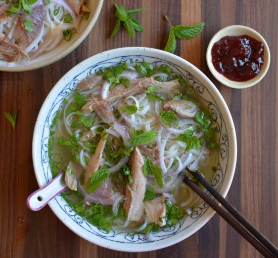 Tday turkey pho bowl