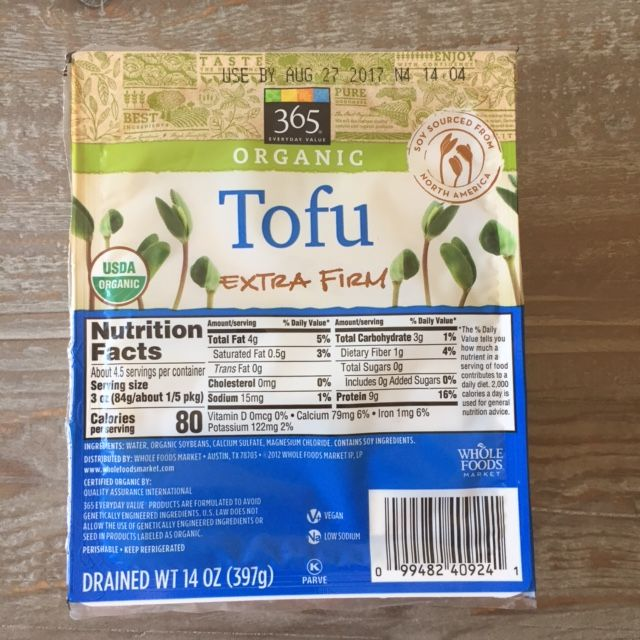 Nasoya Tofu Whole Foods