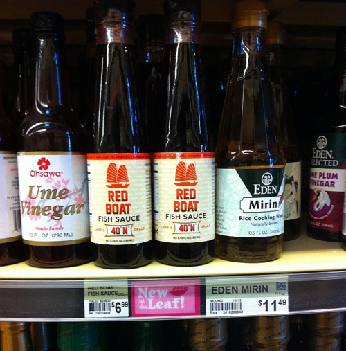 Finding asian ingredients in unlikely places viet world for Whole foods fish sauce