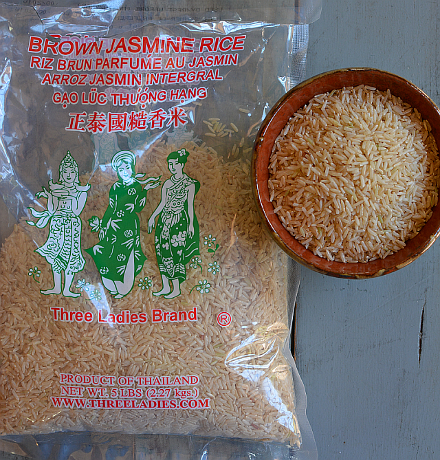 how to cook jasmine brown rice in a rice cooker