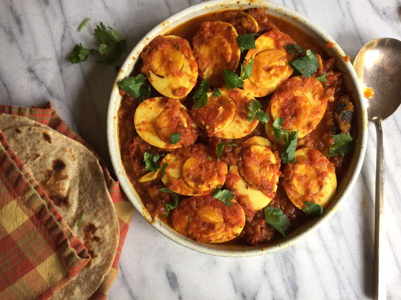Northern indian egg curry recipe anda masala viet world kitchen egg curry done2 forumfinder Images
