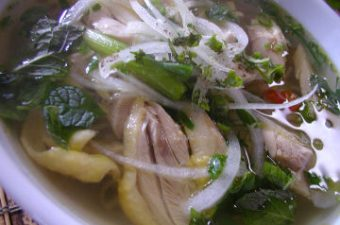 Chicken Pho Noodle Soup Recipe (Pho Ga)