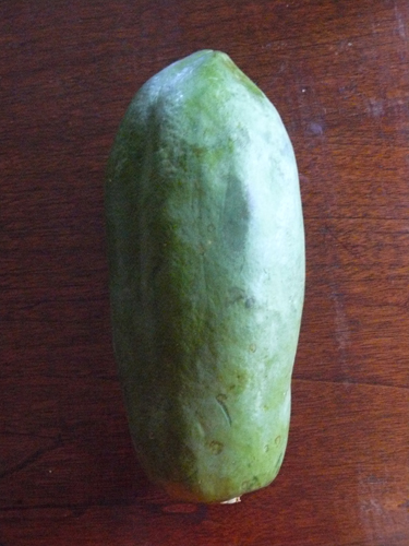 Green papaya whole