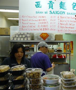 Banh-mi-saigon-bakery counter
