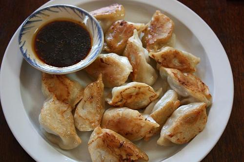 Pan-fried Weichuan shandong dumplings
