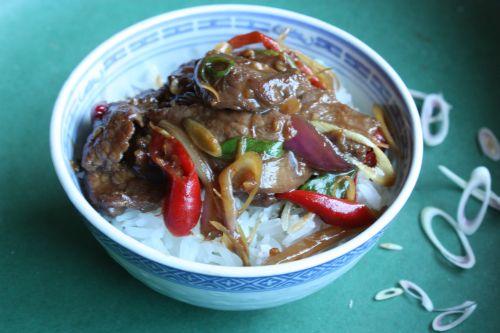 Stir-Fried Beef with Lemongrass and Chiles — Mark Bittman.com