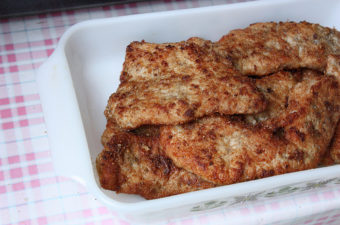Garlicky Pan-fried Pork Steaks Recipe (Thit Cot-let Chien)