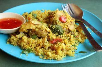 Thai Chicken Biryani Recipe (Khao Mok Gai)