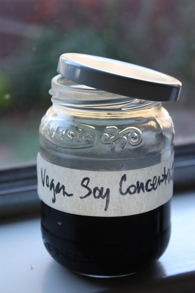 Japanese soy concentrate