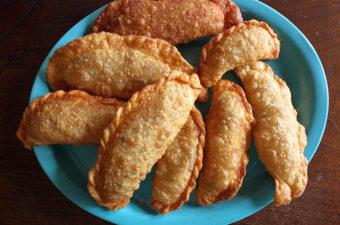 Giant Fried Jiaozi Dumplings Recipe