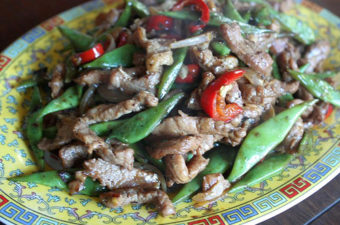 Stir-Fried Pork with Black Beans and Green Beans Recipe