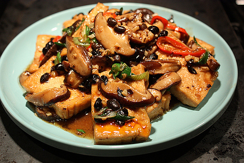 Hunan-style tofu