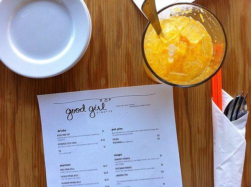 Good Girl Dinette menu.png