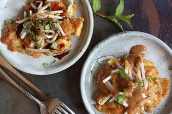 Fried Tofu and Egg Pancake Recipe (Tahu Telur)