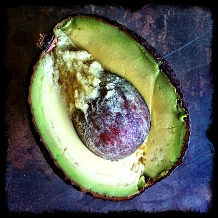 A creamy Hass avocado