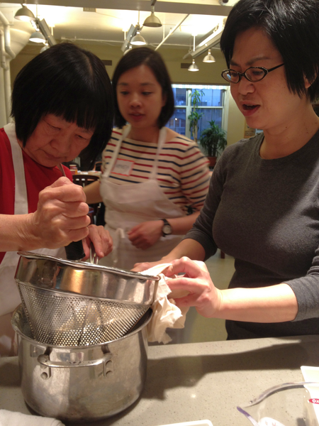 NYC ICE making soy milk for tofu