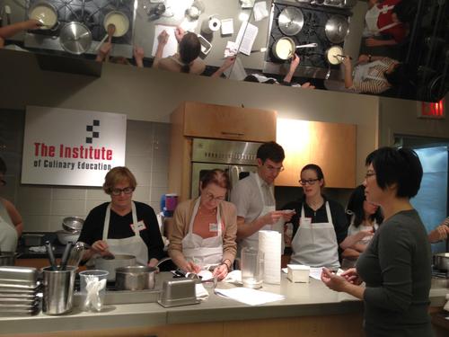 NYC ICE Asian tofu class, photo by Karen Shinto