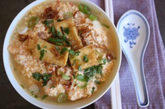 Faux Viet Crab Noodle Soup & Coagulating Soy Milk Video Tip