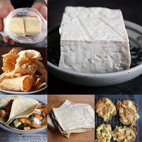 Asian tofu collage 2
