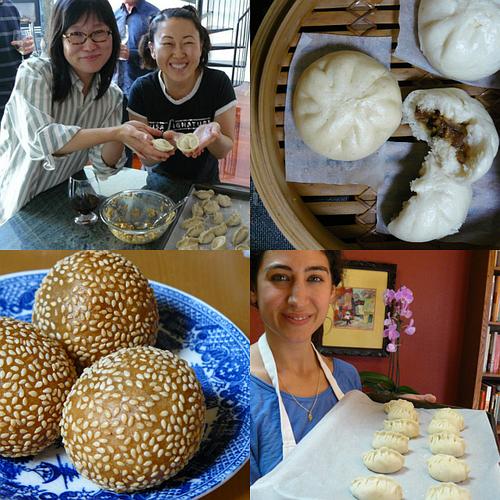 2013 dumpling party collage