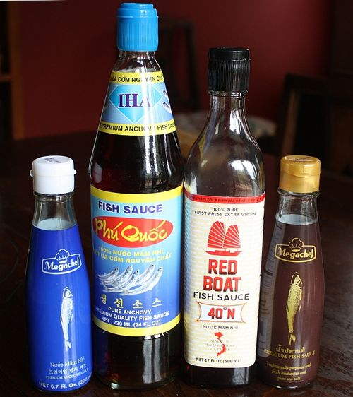 Premium fish sauces to try red boat iha megachef viet for Red fish sauce