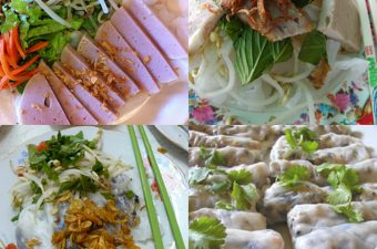How Banh Cuon Rice Noodle Rolls are Made (+ video)