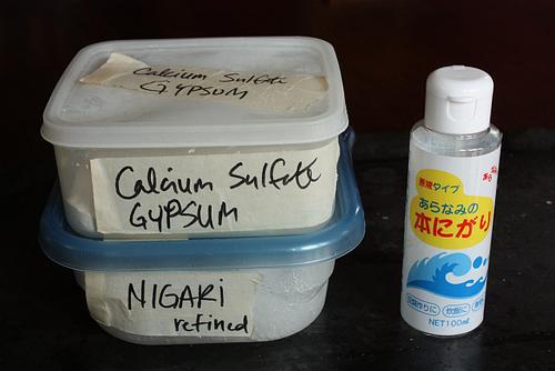 Tofu coagulants (reliable ones!)